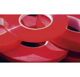 Acrylic double-sided tape 19mm red