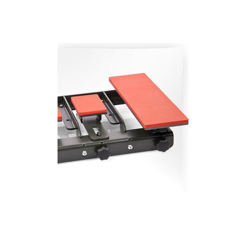 System szybkiej wymiany Secabo z zamontowanymi płytkami