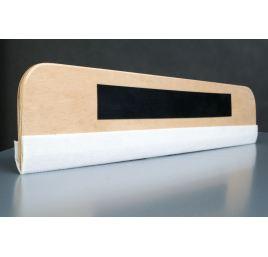 Drewniana Rakla z filcem 52 cm