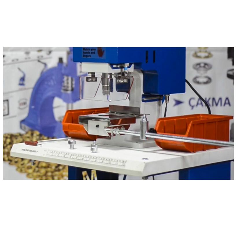 Zakuwarka automatyczna MC-20 z punktorem laserowym