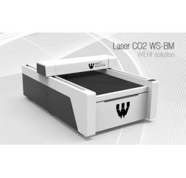 Laser CO2 WS-2030BM W6 - cięcie metalu, podnoszony stół - OD RĘKI