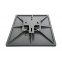 exchangeable base plate 38cmx38cm