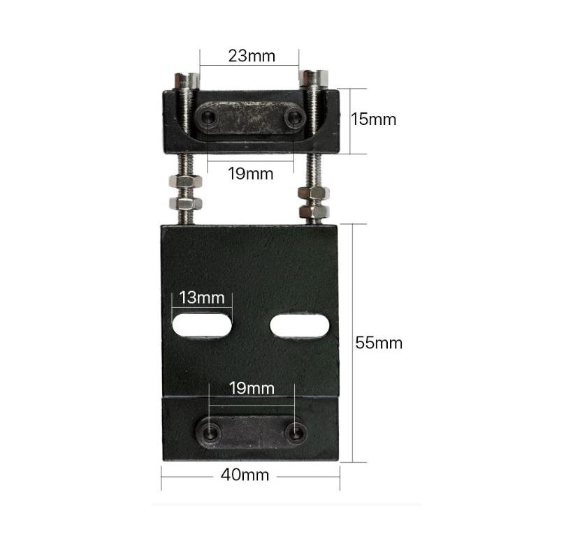 Zapięcie pasa 15mm osi X/Y