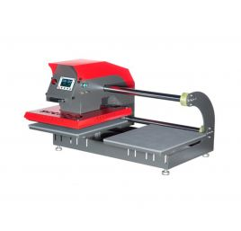 TPD7 pneumatic double base heat press