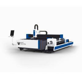 Laser Fibrowy WS-AM - do cięcia rur i profili oraz platformą załadunkową
