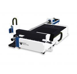 Laser fibrowy – z przystawką do rur i profili