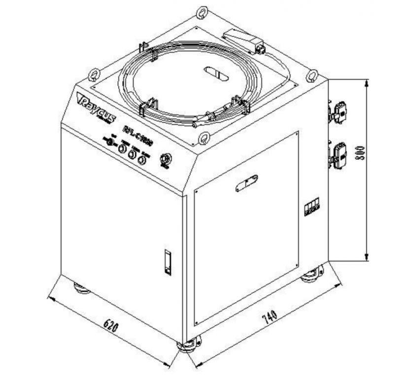 Weni Fiber laser WS1530G-A  1500x3000mm 700W-1500W