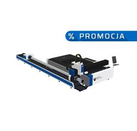 PROMOCJA: Laser fibrowy 3015GM 4000W IPG – z przystawką do rur i profili 6m