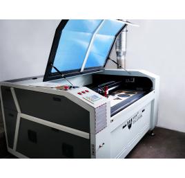 Laser CO2 1610C W6 - kamera CCD, Silniki krokowe, stół podnoszony